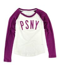 Aeropostale Girls PSNY Raglan Graphic T-Shirt