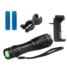 Flashlight Torch LED 4000 Lumens 5Mode Cree XM-L T6 Adjustable Focus waterproof