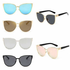 Retro Women Vintage Cat Eye Sunglasses Oversized Eyewear Designer Eyewear Shades