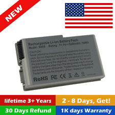 Laptop Battery for Dell Latitude D520 D500 D600 D610 C1295 New 6 Cell / Charger