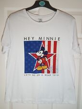 Disney Mickey Minnie Mouse Ladies T shirt Top Primark BNWT