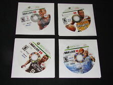 Lot of 4 NBA Basketball XBOX 360 games - NBA LIVE 06,08,09 & 10  ***WOW***