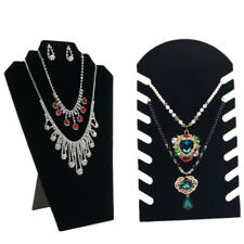 Holder Chain Display Stand Necklace Stand Pendant 1 Pcs Jewelry Velvet Display