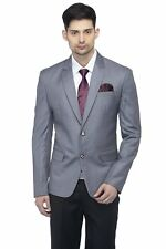 Men's  Casual Notched Lapel Blazer Single Breasted 2 Button Sport Coat Jacket