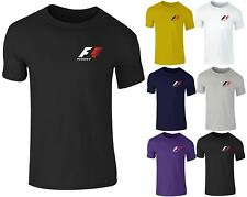 New Mens Formula One Grand Prix F1 Motor Sport Racing T Shirt Top Small-XXL