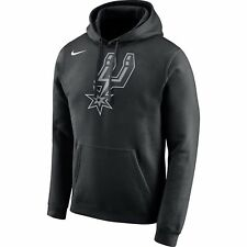 Limited Edition Nike NBA 2017-2018 San Antonio Spurs Logo Club Hoodie Sweatshirt