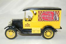 Coca Cola Coke ERTL 8 Million A Day Yellow Delivery Truck Diecast Coin Bank