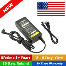 12 Volt 5 Amp (12V 5A) DC AC Adapter Charger Power Supply LCD Monitor / Cable