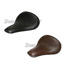 Synthetic Leather Solo Slim Seat Large for Harley Bobber Chopper Custom