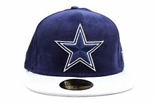 Dallas Cowboys Navy Blue Team Cord Gray Visor NFL New Era 59Fifty Fitted Hat