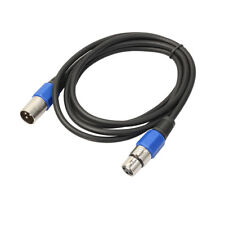 Professional XLR Microphone Cable 3-pin Male & Female Connectors Audio Cable