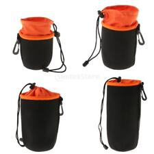 Lens Case Pouch Thick Protective Camera Bag Inside Soft Plush Neoprene #2