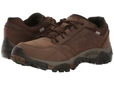 NEW Mens MERRELL Earth Brown Leather MOAB ADVENTURE WATERPROOF Lace Hiking Shoes