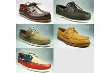 100% Timberland Shoes Men's Leather Boat Shoes Shoes Boat 2eye Scarpe Beautiful