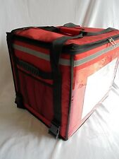 FOOD DELIVERY TAKE AWAY HOLDALL BACKPACK BAG T11 RED CHINESE INDIAN SCOOTER BIKE