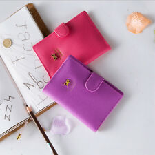 1 Pcs Pu Leather Travel Wallet Passport Holder Sweet Bowknot Travel Wallet
