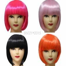 US Lady Women Sexy Short Straight BOB Hair Full Wig Cosplay Women Hair Party Wig