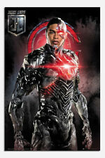 Justice League Cyborg Solo Poster New - Maxi Size 36 x 24 Inch