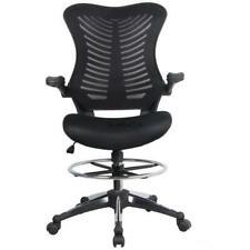 Ergonomic Adjustable Drafting Reception Office Stool-Chair with Armrests BTL8