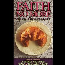 Video Croissant by Faith No More (VHS, Warner Reprise Video) Great Condition