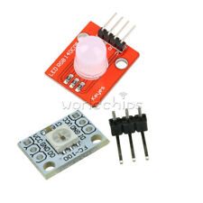 2/5PCS 5V 1-Bit 10MM WS2812 2811 STM32 M92 RGB LED Module Light Emitting Diode