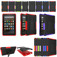 """Hybrid Protective Rugged Hard Case for Amazon Kindle Fire 7"""" 2015 5th Generation"""