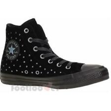 Converse All Star CT Hi 558991C womens black sneakers velvet studs casual shoes