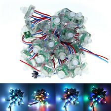 25-500x WS2811 IC 12mm Diffused Digital RGB LED Pixel character Sting IP68 5V S