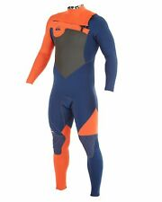 NEW QUIKSILVER™  Mens AG47 Performance 3/2mm Chest Zip Steamer Wetsuit 2015 Surf