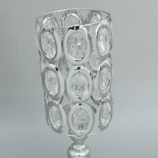 Crystal Votive Church Pillar Candle Tea Light Holder Candlestick Wedding Decor