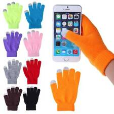 Magic Touch Screen  Gloves Smartphone Texting Stretch Adult Winter Warmer Knit