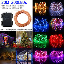 20M 200LED Timer Function ​Waterproof Christmas Party String Light Fairy Light