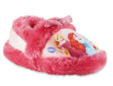 BELLE ARIEL RAPUNZEL Plush Slippers NWT Toddlers Sz. 5/6 7/8 9/10 or Girls 11/12