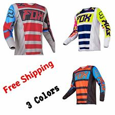 Motocross Racing Jersey FOX  Extreme Sports 3 Color Off Road Clothing Quick Dry