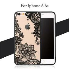 Floral Phone Cases For iPhone 7 6 6s, Samsung Galaxy S7 S6 S8