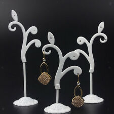 3pcs Metal Tree Earring Necklace Jewelry Display Stand Rack Holder Organizer