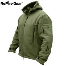 Winter Military Tactical Fleece Jacket Men Warm Polar Army Clothes Multiple Pock