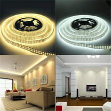 12V 5M SMD 3528 300LED Non/Waterproof Flexible Warm Cool White Fairy Strip Light