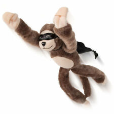 US Cool Flying Screaming Monkey Slingshot Plush Animal Funny Party Toy Kids Gift