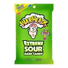 Original Warheads Extreme Sour American Hard Candy Sweets Flavor 56g Pack