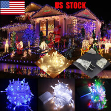 US 10M 100 LEDs Fairy String Lights Home Christmas Wedding Party Decoration Lamp
