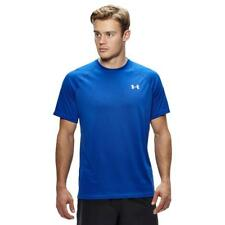 New Under Armour Mens Tech Tee Sports Clothing Royal Blue