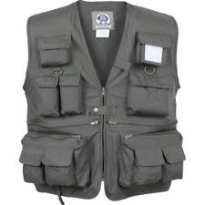 Olive Drab - Fishing and Travel Vest 17 Pockets