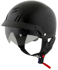 SCORPION  EXO-CT110 OPEN-FACE SOLID HELMET BLACK [Different Sizes]