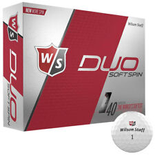 Wilson Staff Duo Soft Spin Golf Balls Duo Spin 12-Ball Pack