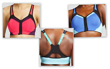 Champion Power Shape MAX High Support Front Zip Sports Bra Motion Control Cup