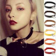 Collar Classic Punk Pendant Neck Ring Choker Necklace Leather Chain Gothic
