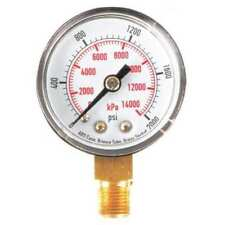 4FLR9 Pressure Gauge, Test, 1-1/2 In
