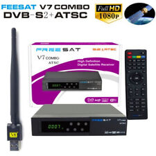 Satellite TV Receiver V7 HD 1080P DVB-S2 ATCS + USB WIFI Support YouTube PVR EB