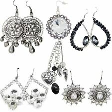 True Face New Ladies Women Dangle Style Metal Alloy Designer Earrings Jewellery
